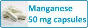 Buy Manganese 50 mg capsules for PCOS DCI